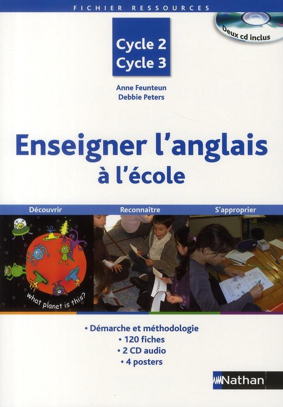 ENSEIGNER ANGLAIS ECOLE + 2 CD