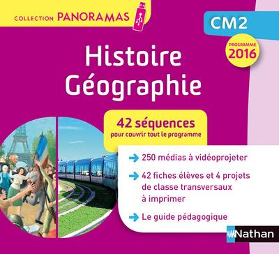 RAN PANORAMA - HISTOIRE GEOGRAPHIE - CLE - CM2 - 2017