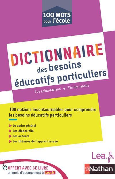 DICTIONNAIRE DES BESOINS EDUCATIFS PARTICULIERS
