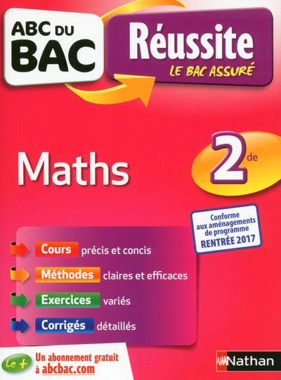 ABC DU BAC REUSSITE MATHS 2DE