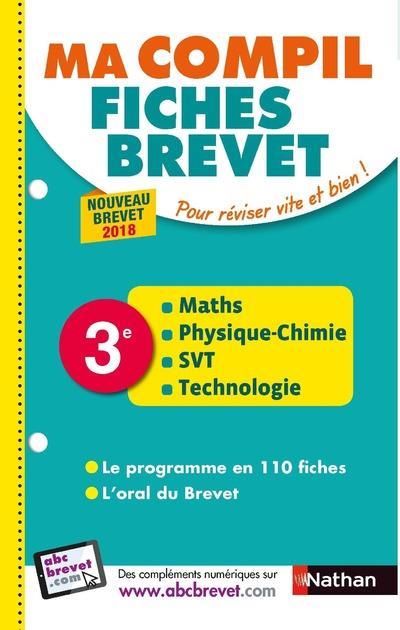 MA COMPIL DE FICHES BREVET 3E POUR REVISER VITE ET BIEN ! - NOUVEAU BREVET 2018