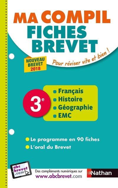 MA COMPIL DE FICHES BREVET EPREUVE 2