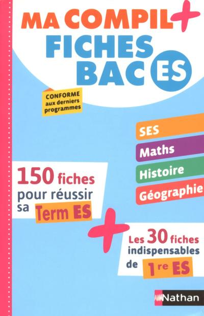 MA COMPIL+ FICHES BAC ES