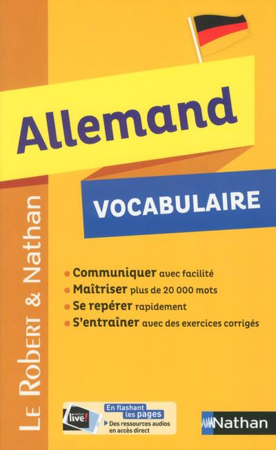 ROBERT & NATHAN VOCABULAIRE ALLEMAND