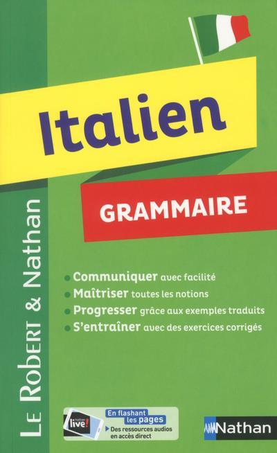 LE ROBERT & NATHAN - GRAMMAIRE ITALIEN