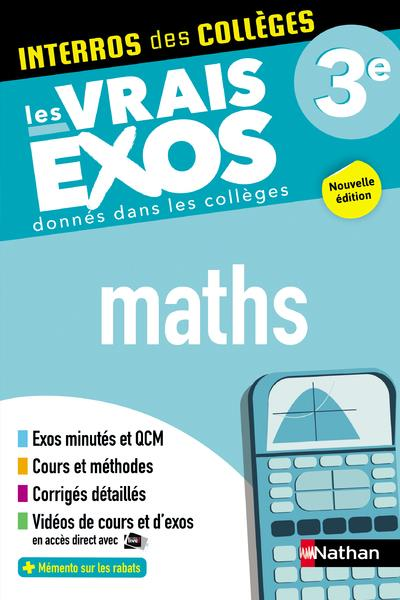 INTERROS DES COLLEGES MATHS 3E - VOL01
