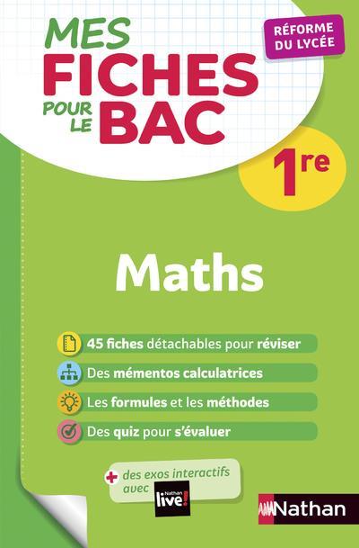 MES FICHES ABC POUR LE BAC MATHS 1RE