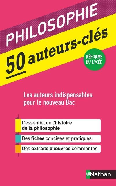 50 AUTEURS-CLES - PHILOSOPHIE
