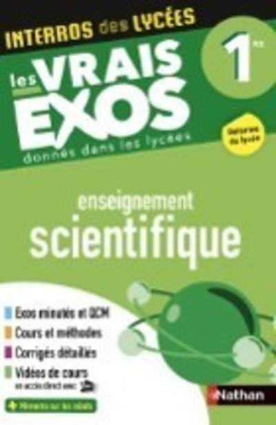 INTERROS DES LYCEES ENSEIGNEMENT SCIENTIFIQUE 1RE