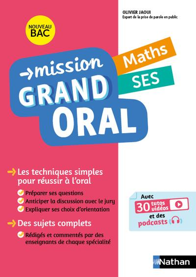 MISSION GRAND ORAL - MATHS SES