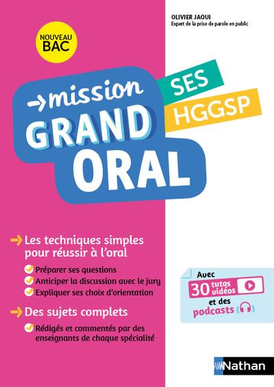MISSION GRAND ORAL - SES HGGSP