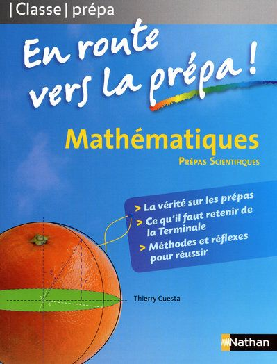 MATHS EN ROUTE VERS PREPA SCIE