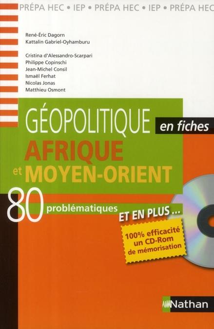 GEOPOLITIQUE FICHES+CD AFR/MO