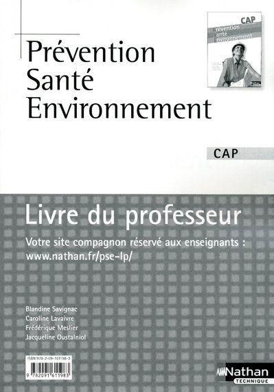 PREVENT SANTE ENV CAP (POCH) P