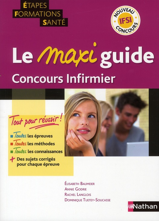 MAXI GUIDE CONCOURS INFIRMIER