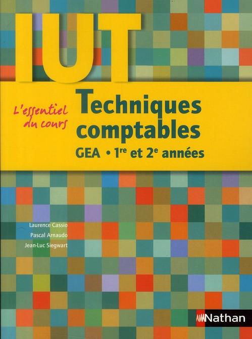 TECH COMPTA IUT GEA 1E/2E ANN