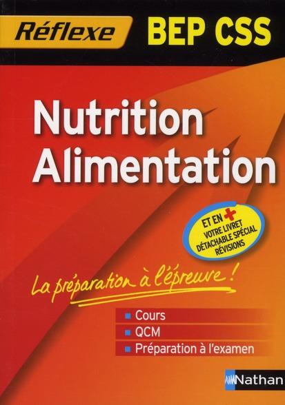 NUTRIT/ALIM BEP CSS MEMO REF88