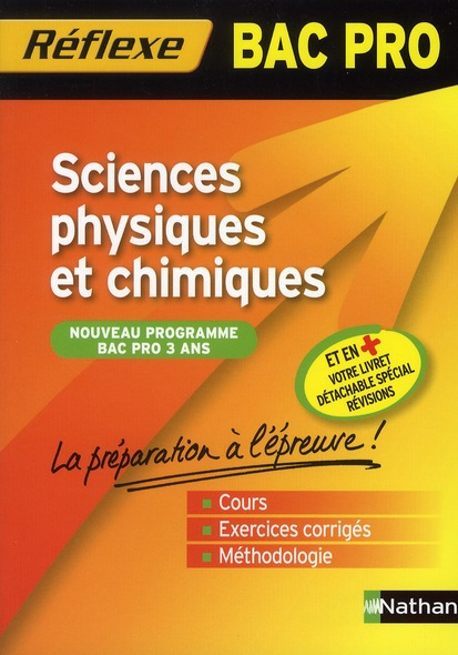 SC. PHY CHIMIQUES BAC PRO N07