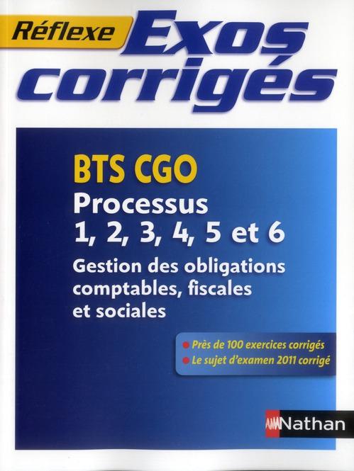 EX CORRIGES P1 A P6 BTS CGO