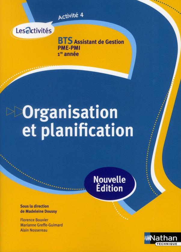 ACT 4 ORGANIS PLANIFICAT BTS