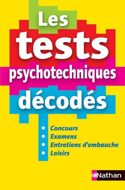 TESTS PSYCHOTECHNIQUES DECODES