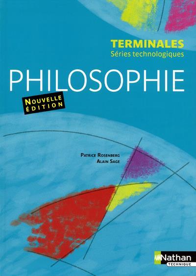 PHILOSOPHIE TERMINALES SERIES TECHNOLOGIQUES ELEVE 2012