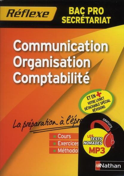 COMM/ORGA/COMPTA BPRO (MEMO RE