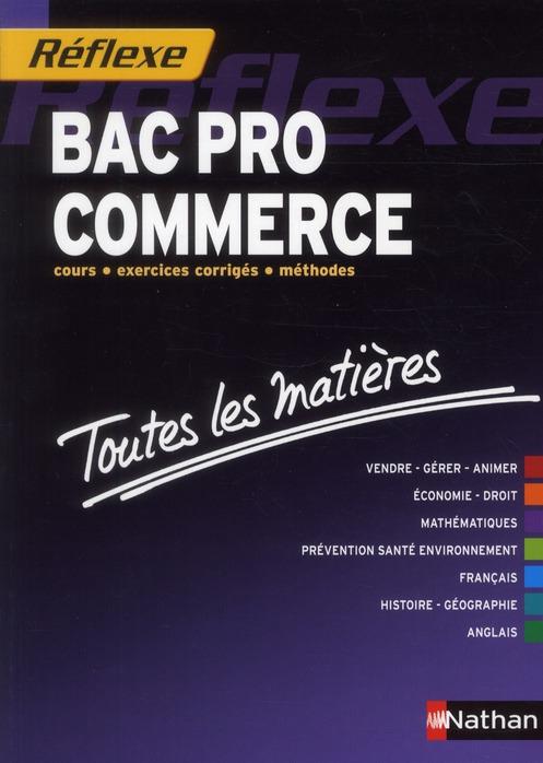 BAC PRO COMMERCE REFLEXE N17