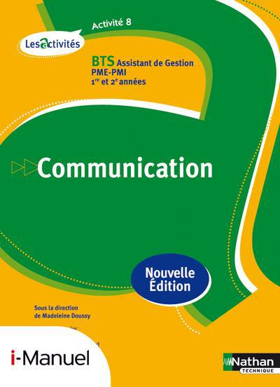 ACTIVITE 8 BTS (ACT) COMMUNICA