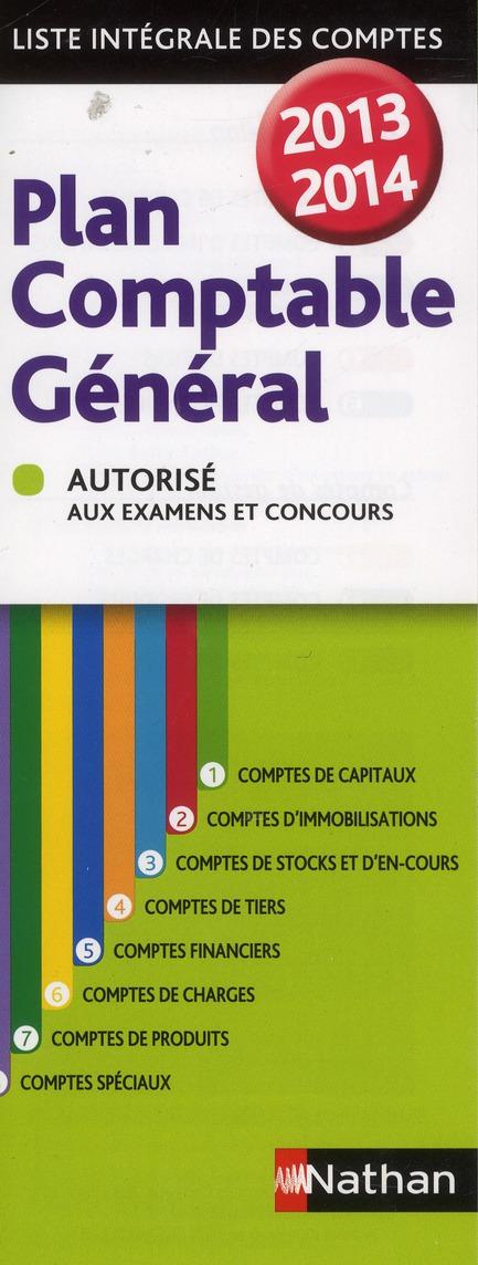 PLAN COMPTABLE GENERAL 2013/14