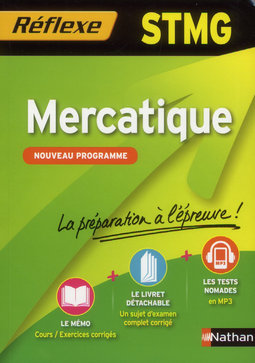 MERCATIQUE STMG (MEMO REF)
