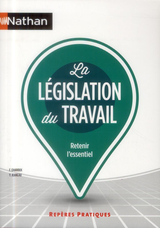 LEGISLATION DU TRAVAIL 2013