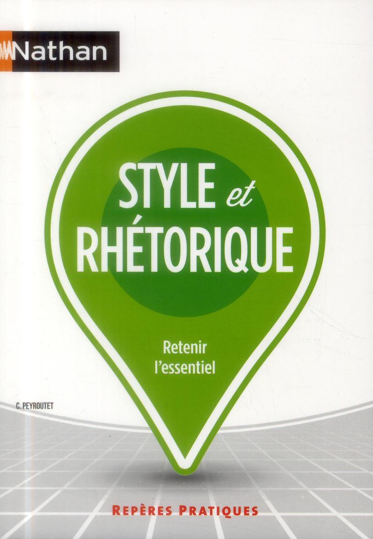 RP STYLE ET RHETORIQUE N29