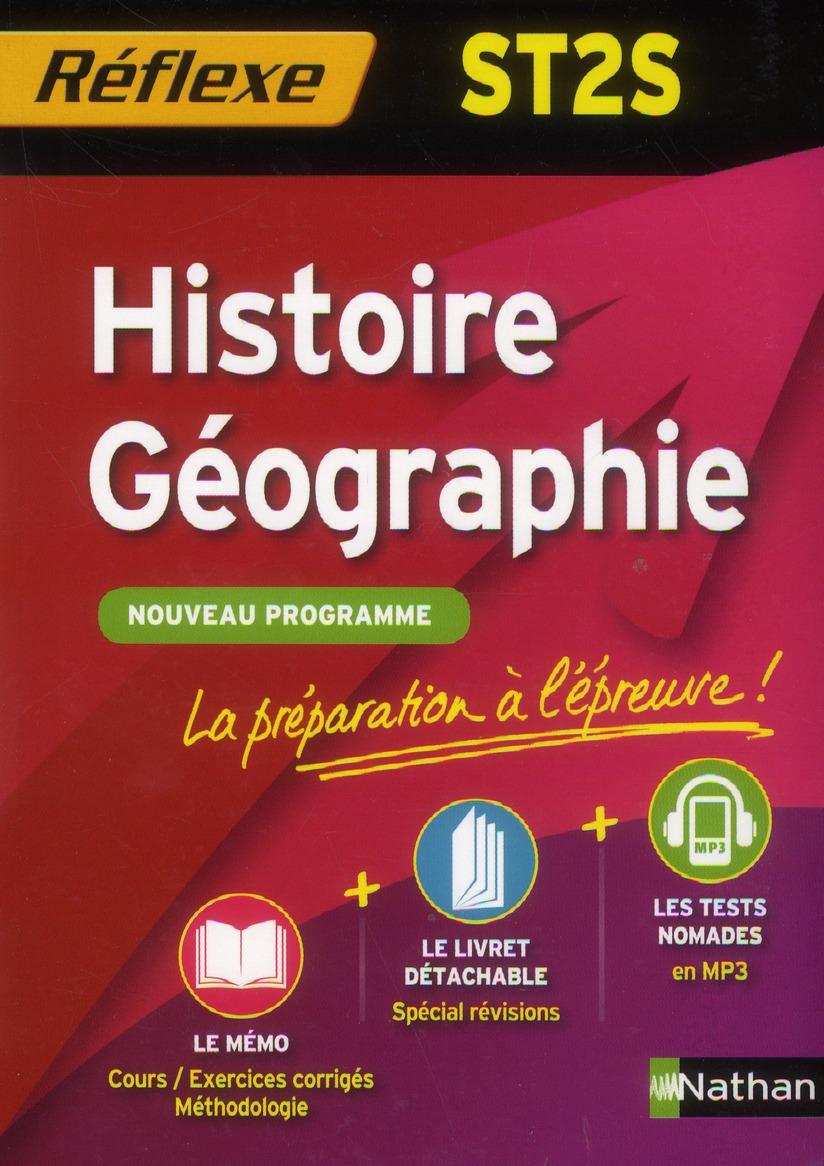 HISTOIRE/GEO ST2S (MEMO REF)