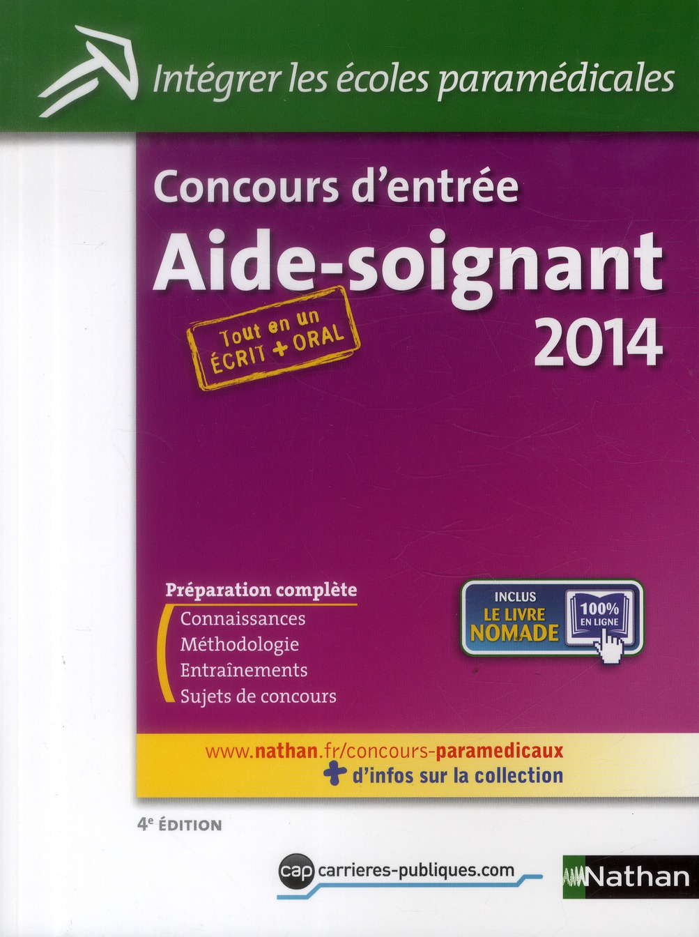 CONCOURS AS (ECRIT/ORAL) N34