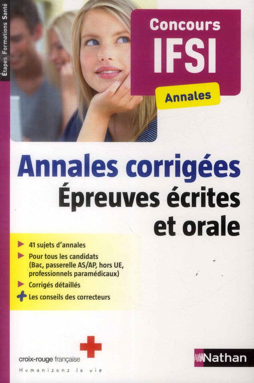 ANNALES CORRIGEES IFSI (EFS)