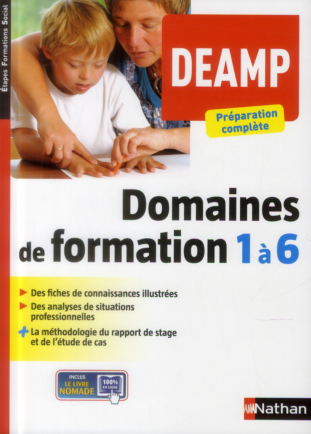 DOMAINES FORMATION 1 A 6 DEAMP