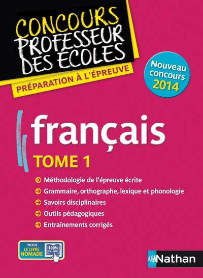 FRANCAIS T01 (CRPE)