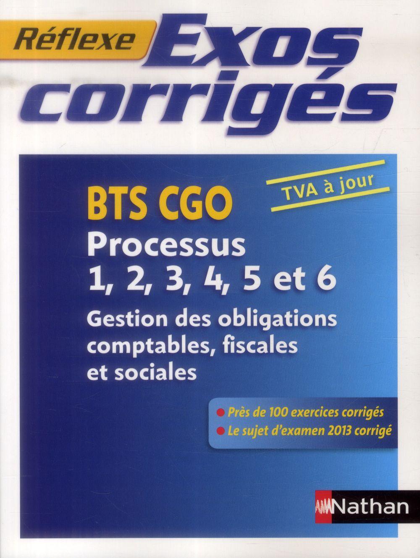 EXOS CORRIG P1 A P6 BTS CGO (