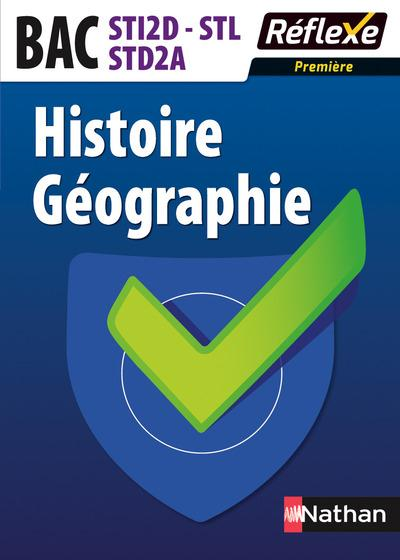 HISTOIRE GEOGRAPHIE PREMIERE BAC STI2D/STL/STD2A MEMO REFLEXE N23 2015