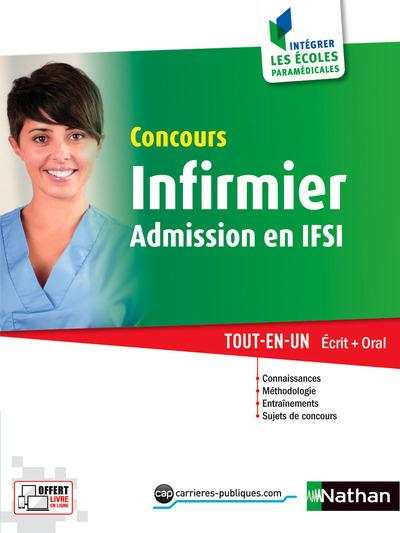 CONCOURS D'ENTREE INFIRMIER IFSI (INTEGRER LES ECOLES PARAMEDICALES) N13 - 2016