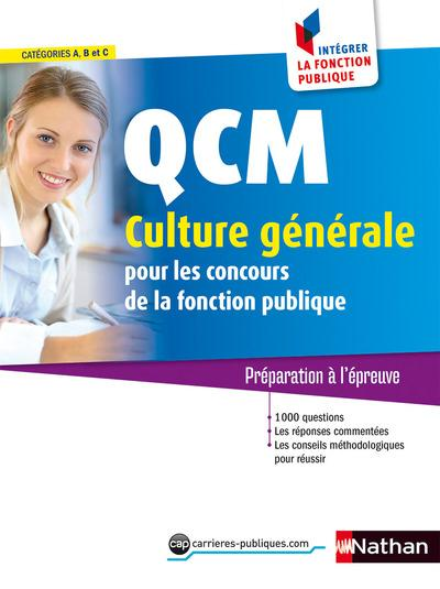 QCM CULTURE GENERALE NUMERO 28 CATEGORIES A B C ININTEGRER LA FONCTION PUBLIQUE 2016