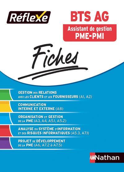 BTS AG ASSISTANT DE GESTION PME-PMI - FICHES REFLEXE NUMERO 6 2017