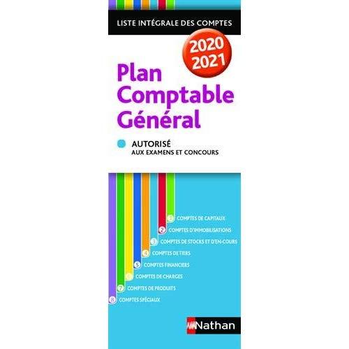 PLAN COMPTABLE GENERAL 2020/2021