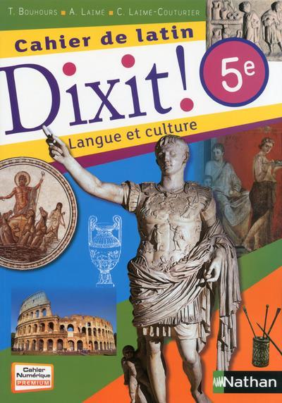 CAHIER DE LATIN DIXIT 5E