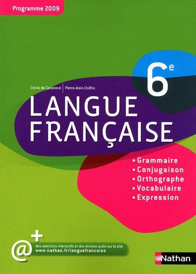 LANGUE FRANCAISE 6E 2009