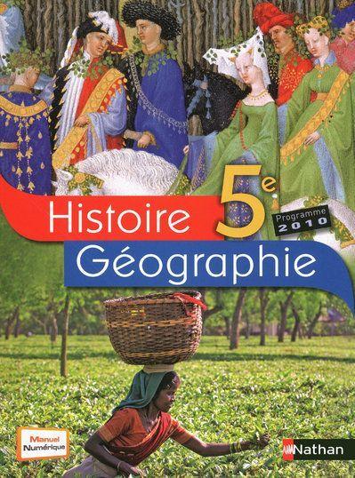 HISTOIRE-GEOGRAPHIE 5E GRAND F