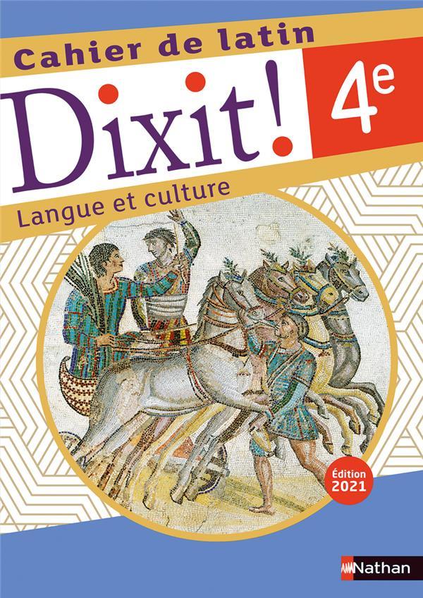 DIXIT - CAHIER D'ACTIVITES - 4E - 2021