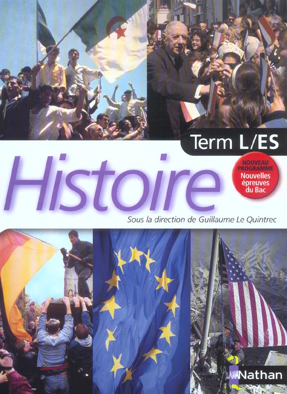 LE QUINTREC/HISTOIRE TERM L-ES LIVRE ELEVE 2004