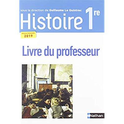 HISTOIRE LQT 1RE LIVRE PROFESSEUR 2019